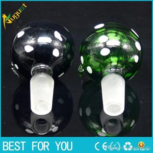 Smoking pipe New Arrival 14 mm or 19 mm male joint Glass Bowl for smoking pipe Glass bubbler and Ash Catcher Glass smoking nail Oil