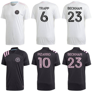 2020 Inter Miami Soccer Jerseys 2020 21 #10 PIZARRO TRAPP PELLEGRINI Uniform Mens MLS #23 BECKHAM CARRANZA Football Shirts