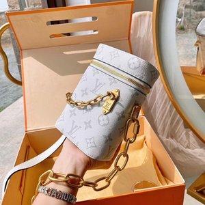 De haute qualité célèbre Designer Marque Sac bandoulière femmes Petit sac épaule couleur grand Zipper Mini carré Sacs mobile femmes Messenger Han YY00