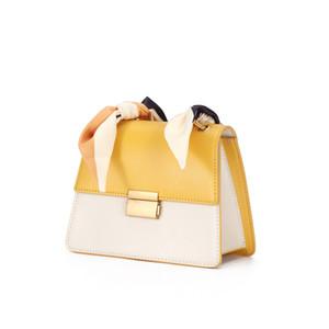 La vendita calda designer borse di lusso borse in pelle sacchetto di disegno femminile di nicchia nuova moda obliqua della spalla del sacchetto della sella piccola borsa piazza 9045