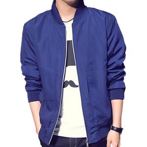 Blau Bomber Desinger Jacke Männer Streetwear Hip Hop Slim Fit Pilot Bomberjacke Mantel Lässig Männer Jacken Plus Größe 4XL