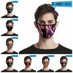 Donald Trump 2020 Maks Élection présidentielle Designer Masque Adulte Enfant Mode anti-poussière coton soie Masques visage de la RRA3198