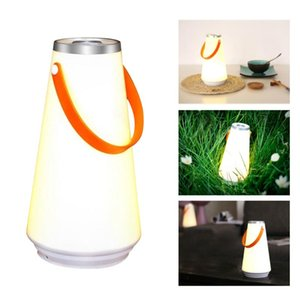 Multifunction Portable Wireless Outdoor Camping Emergency Light LED Home Night Light Table Lamp USB Rechargeable Touch Switch