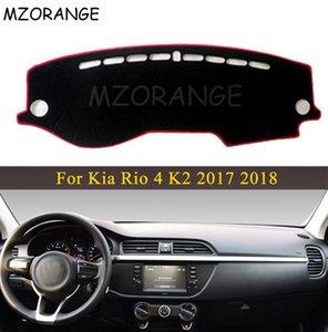 Exterior Accessories Car Stickers LHD RU Car Dashboard Cover For Kia Rio 4 K2 2017 2018 Anti-slide Pad Dashmat Sun Shade Dash