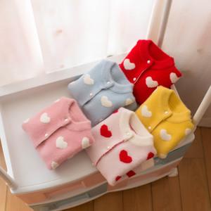 Paragraf Çocuk Triko Kız Polikromatik Tüm Vücut Aşk Hırka Ceket 0205