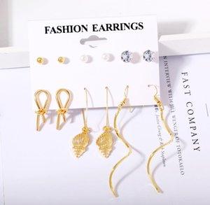 Luxury Jewelry Designer Fashion Women Earrings Hip Hop Diamond Stud Earings Bling Rock Punk Wedding Gift zircon earrings wholesale