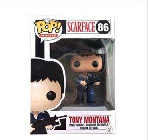 Funko POP! # 86 SCARFACE TONY MONTANA TONOZ EMEKLİ Eylem bebek bebek için oyuncak Şekil
