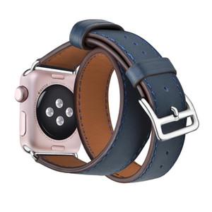 De alta qualidade Assista bracelete para iWatch 5 Para a Apple Watch Band laço de couro 40 milímetros 44 milímetros série 42 milímetros 38 milímetros 4 3 2 1