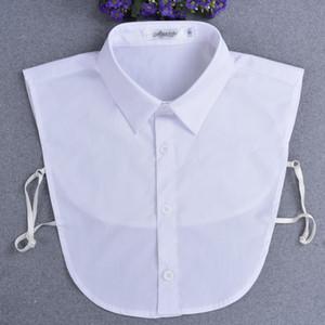 Mens falso Collari 100% Cotone formato Business Plus XXL Abbigliamento Accessori NEP kraagje dame col maschio staccabile collari
