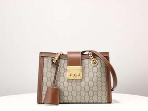Famosa marca di alta qualità della borsa delle donne di cuoio G N. 11 borse crossbody Marca catene del sacchetto del messaggero sacchetti genuini 479.197 Portafogli Ha