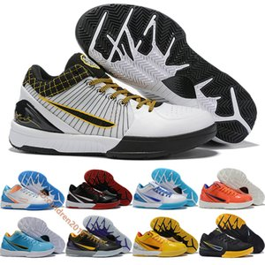 Bryant KB 4 IV Protro Basketball Shoes For Mens Sneakers High Designer Del Sol Carpe Diem Undefeated Varsity ACES Trainers Size 40-46