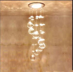 Mini suspension moderne Cristal LED Lustre Plafond Suspension lustre AC 110V2 20V Led Cuisine lumière Appareils éclairage à la maison lampadari