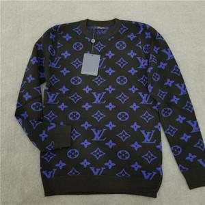 Louis Vuitton Sweater рибытие бренда Мода Повседневная Женщины Мужчины свитер Горячие продажи Высокое качество Бесплатная доставка осень зима xshfbcl Женщины Мужчины свитер