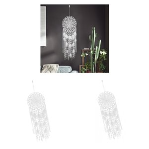 2Pieces Bohemian Boho Grande Dreamcatcher Con Decor Feather