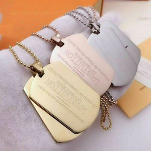 Top Qualtiy Brand New Fashion Jewelry Stainless Luxury Pendant Necklaces Bangles pulseiras Bracelets For Man and Women with Gift box
