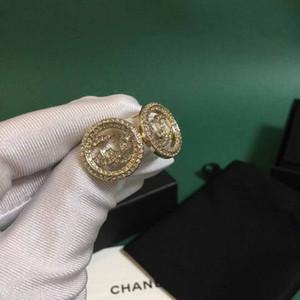 venta caliente diseño hueco forma redonda con todos los diamantes de la boda para las mujeres PS4432 regalo de la joyería