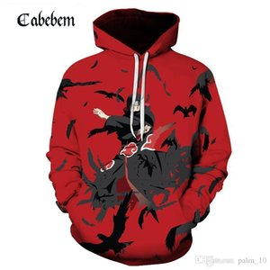 2019 Aikooki Winter 3D Naruto Hoodies Men women Fashion Hot High Quality Streetwear 3D Print Naruto Men's Hoodies and Sweatshirt
