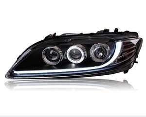 Car Styling Headlights for Mazda 6 2003-2015 LED Headlight for Mazda6 Head Lamp LED Daytime Running Light LED DRL Bi-Xenon HID