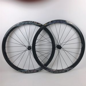 가능 NEW 카멜레온 로고 700C 도로 자전거 탄소 디스크 휠 UD 데칼 3K 12K 차축 스루 100 * 12 142 * 12mm의 38mm에서 50mm 오리지널 브랜드