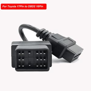 Автомобиль OBDII адаптер для 17Pin 22Pin для OBD OBD2 16Pin для разъем адаптера аксессуары