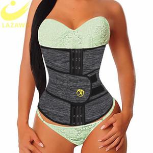 여성 허리 트레이너 네오프렌 벨트 체중 감소 Cincher 몸 셰이퍼 배가 제어 스트랩 슬리밍 지방 굽기 벨트 땀