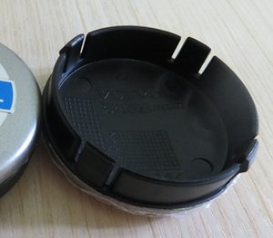 1000 قطع 64 ملليمتر فولفو عجلة مركز قبعات محور غطاء سيارة شعار شارة أسود / رمادي / الأزرق c30 c70 s40 v50 s60 v60 v70 s80 xc90
