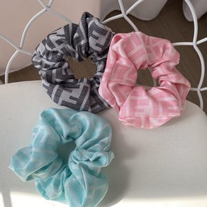 Fashion Design Women Hair Bands High Quality Workmanship Silk Hair Rubbers for Women Popular Hair Bands for Women