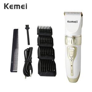 Kemei 1817 Trimmer Rechargeable mens hair shaver Salon Hair Machine For Men Professional Hair Trimmer EU Plug 42D PKKJO