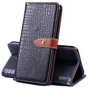 Etui en cuir de luxe pour couverture de crocodile Pour Oukitel C3 C4 C8 K3 K5000 K8000 K6000 U15 Pro Mix 2