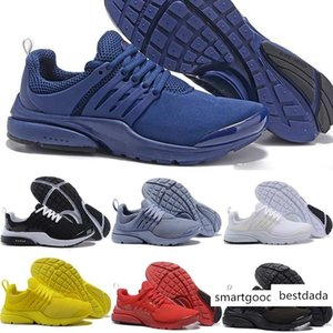 New 2018 Presto BR QS Men Women Running Designer Shoes Triple s White Black Oreo Red Yellow Blue Grey Sports Sneakers 36-45
