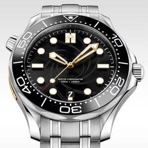 Luxury Mens Orologi comandante James Bond 007 Dial edizione limitata Mens Sprots orologio automatico da polso orologi di marca
