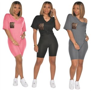 Womens sportswear short sleeve 2 piece set tracksuit jogging sportsuit shirt shorts outfits sweatshirt pants sport suit klw3502