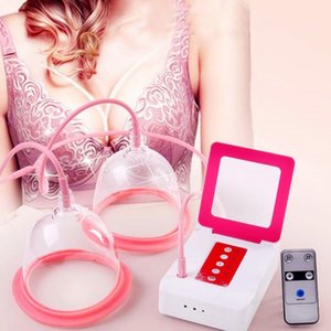 RÁPIDO DHL uso doméstico uso spa portátil mama Mulheres Massagem Alargamento equipamentos mama instrumento realçar a beleza instrumento de cuidados de mama