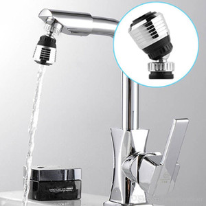 360 Degree Kitchen Sprayers Water Tap Bubbler Swivel Head Saving Faucet Aerator Connector Diffuser Faucet Nozzle Filter Adapter BH2115 ZX