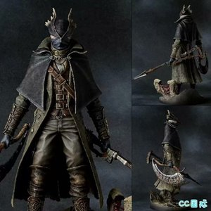 30cm 12inch Bloodborne L'Old Hunters Falce Action Figure Model Toy Doll regalo CJ191224