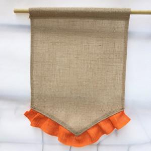 Señales de dirección de bricolaje Banderas de compromiso al aire libre Jardín Inicio Guía Banderas boda del partido de Colgando Suministros creativo arpillera para imprimir