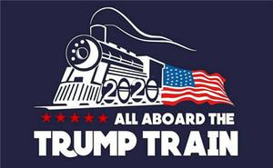 Todo en el extranjero El Trump Tren Etiqueta de la Película de la Ventana 17.8x10.8 cm Autoadhesivo Calcomanía Pegatinas de Parachoques de Coche Accesorios de Coche 50 unids