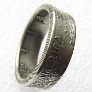 Boyutları 7-12 yılında ABD Kennedy Yarım Doları Coins ABD Işçiliğinin Halkalar kartal Vintage El Yapımı