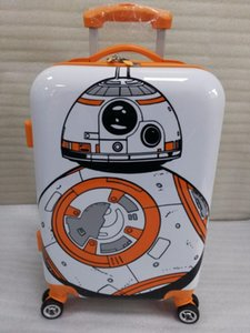 BB8 Robot Rolling Luggage Spinner Travel Suitcase girls boys gift handside luggage