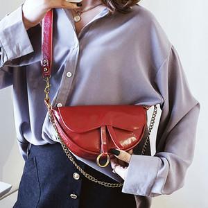 2020 cadena original de diseño de la vendimia bolsa bandolera pecho moda nuevo ancho de 23 cm de altura 14cm espesor 7cm