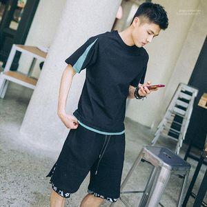 Tshirts лето с коротким рукавом Щитовые Повседневная топы Мода подростковая High Street Hiphop Mens Tshirts Mens конструктора