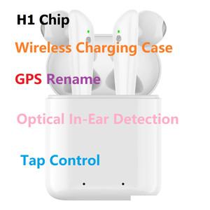 Goophone baccelli Pro Gen 3 Popup Superclonato H1 Chip Auricolare Bluetooth Auricolare Touch Sensore di Controllo Vocale convalidare SN cambiamento Bluetooth Nome