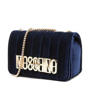 mulheres saco de luxo designer bolsa Suede Leather Handbag Velvet ouro Cadeia Messenger Bag Bolsa de Ombro P1237