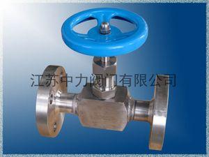 High pressure forged steel flange stop valve