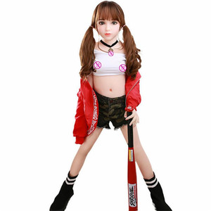 Homens 68cm real Silicone Sex Dolls Robô japonês Anime completa Oral Love Doll Realistic Adulto para Breast Men Toys Big Sexy Mini