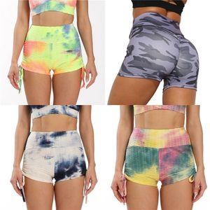 Nhud Shopping Mulheres Flower Digital Print Top Curto cintura alta Pant Esporte Yoga duas peças Outfits # 518