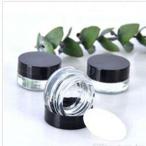 Clear Крем для глаз Jar 3g 5g Пустой стакан Lip Balm Контейнер Wide Mouth Cosmetic Пример Jar с толстым дном