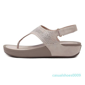 Summer Shoes Women Sandals Flip Flops Thick Sole Ladies Wedges Sandals Summer Holiday Casual Woman Beach Slippers c09