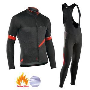 NW 2019 Hiver polaire thermique Vêtement Vêtements Northwave Jersey maillot costume épais vélo d'équitation VTT vêtements chaud