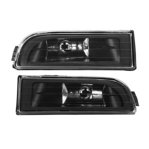 1 Pair Left and Right Front 63178352024 63178352023 Bumper Fog Light Lamp for E38 7-Series 740I 750Il 1995 1996 1997 1998 19